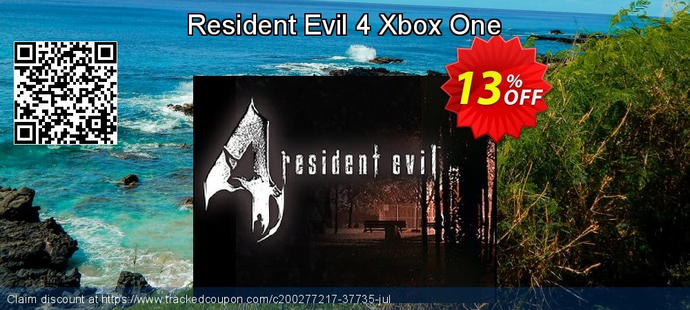 Get 10% OFF Resident Evil 4 Xbox One discounts