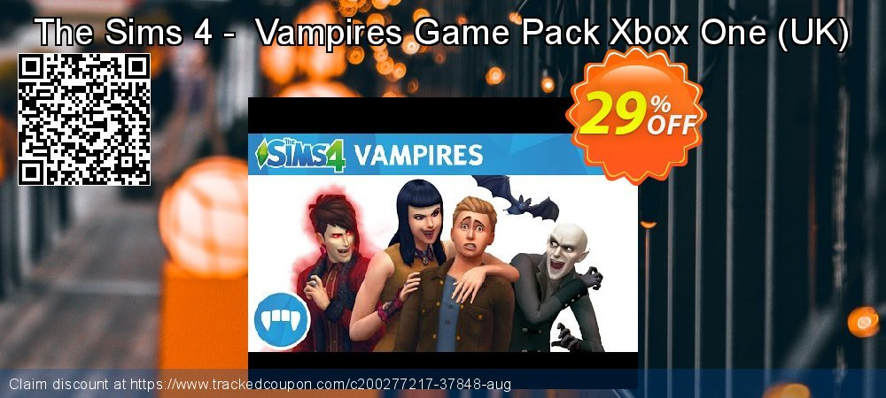 The Sims 4 -  Vampires Game Pack Xbox One - UK  coupon on Hug Holiday promotions