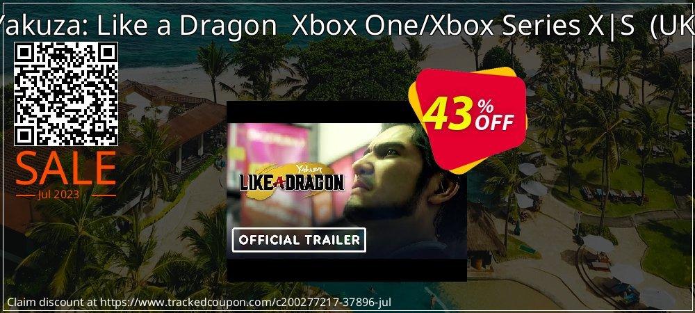 Yakuza: Like a Dragon  Xbox One/Xbox Series X S  - UK  coupon on Social Media Day offer