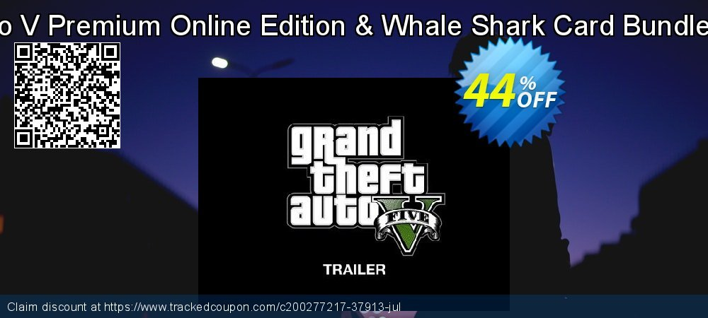 Grand Theft Auto V Premium Online Edition & Whale Shark Card Bundle Xbox One - US  coupon on Hug Holiday deals