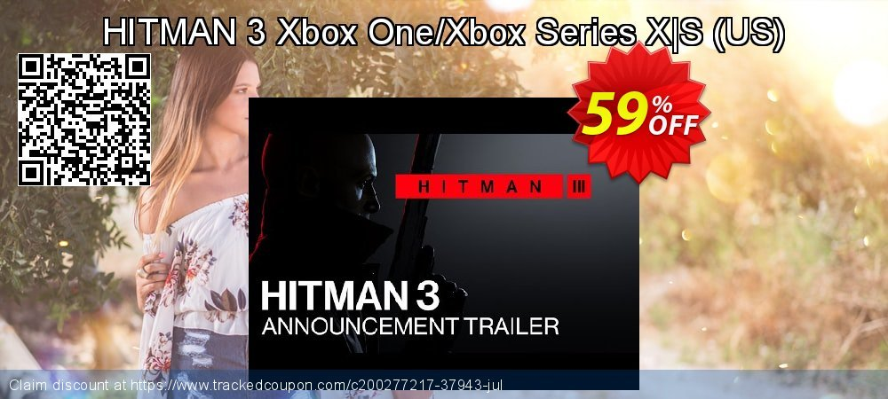 HITMAN 3 Xbox One/Xbox Series X|S - US  coupon on National Cheese Day offering discount