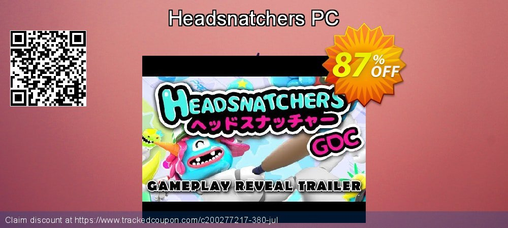 Headsnatchers PC coupon on Parents' Day promotions