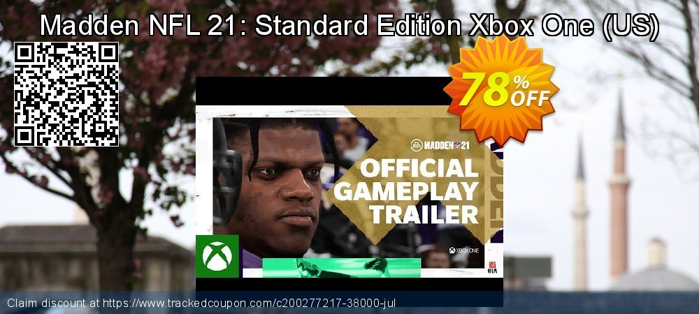 Get 59% OFF Madden NFL 21: Standard Edition Xbox One (US) offering sales