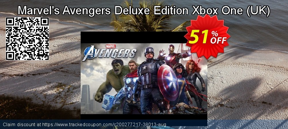 Marvel's Avengers Deluxe Edition Xbox One - UK  coupon on Social Media Day offer