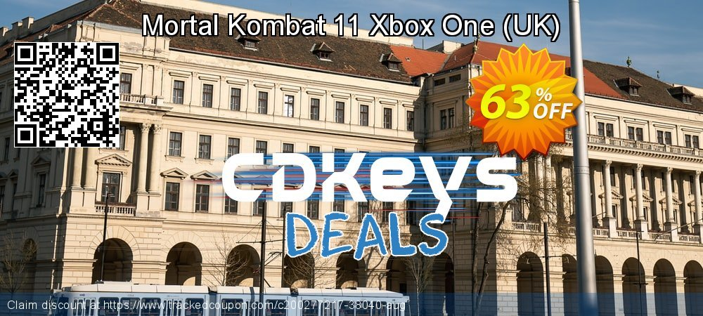 Mortal Kombat 11 Xbox One - UK  coupon on World Oceans Day offer