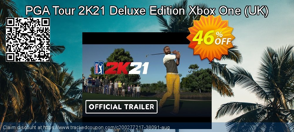PGA Tour 2K21 Deluxe Edition Xbox One - UK  coupon on Social Media Day promotions