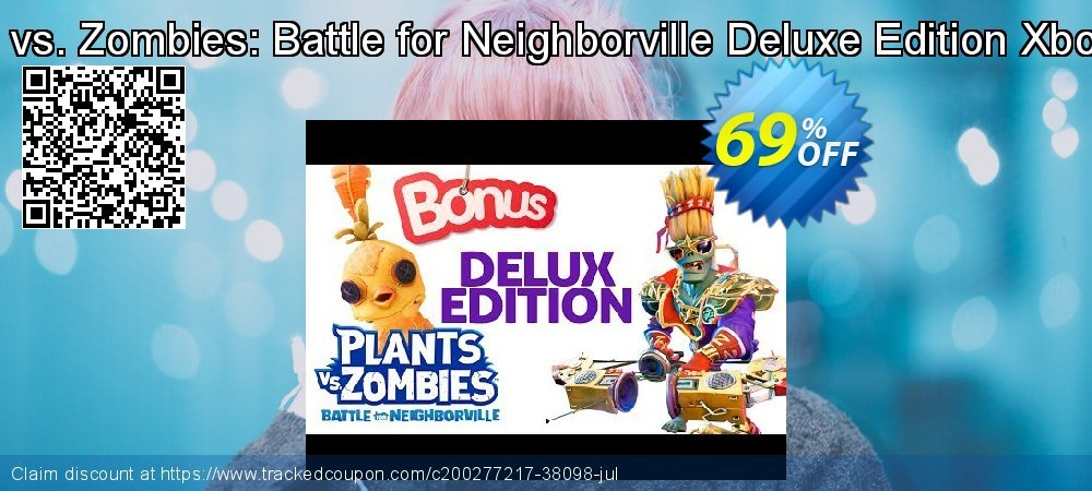 Get 69% OFF Plants vs. Zombies: Battle for Neighborville Deluxe Edition Xbox One sales