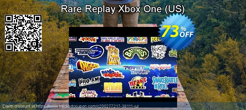 Rare Replay Xbox One - US  coupon on Father's Day deals