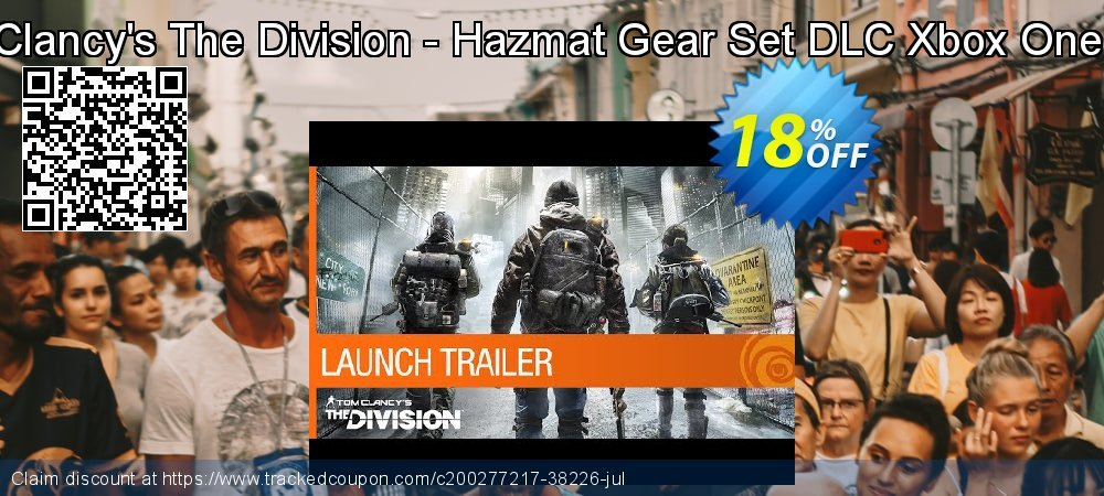 Get 10% OFF Tom Clancy's The Division - Hazmat Gear Set DLC Xbox One (EU) offering sales