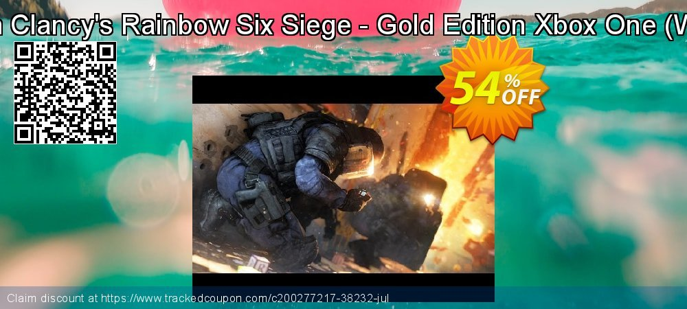 Tom Clancy's Rainbow Six Siege - Gold Edition Xbox One - WW  coupon on Mom Day offering discount