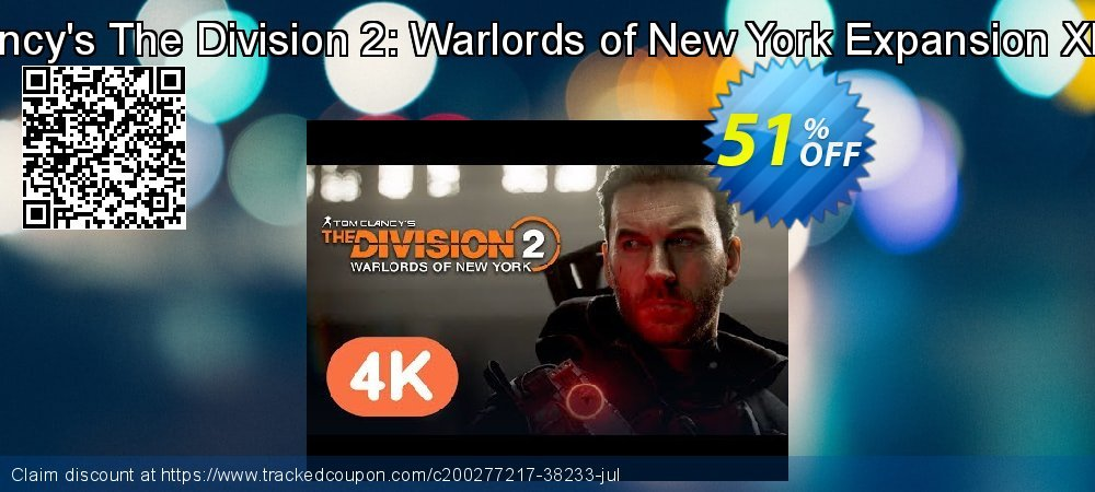 Get 64% OFF Tom Clancy's The Division 2: Warlords of New York Expansion Xbox One discounts