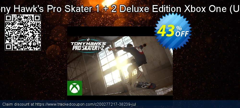 Tony Hawk's Pro Skater 1 + 2 Deluxe Edition Xbox One - US  coupon on Camera Day discount