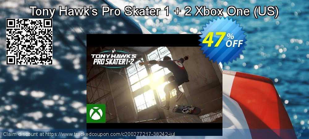 Tony Hawk's Pro Skater 1 + 2 Xbox One - US  coupon on National Cheese Day super sale