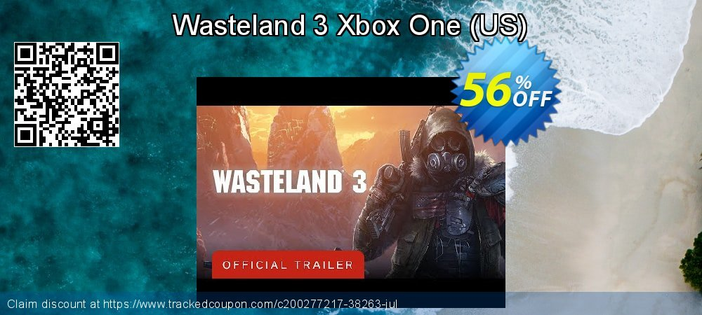 Wasteland 3 Xbox One - US  coupon on World Day of Music sales