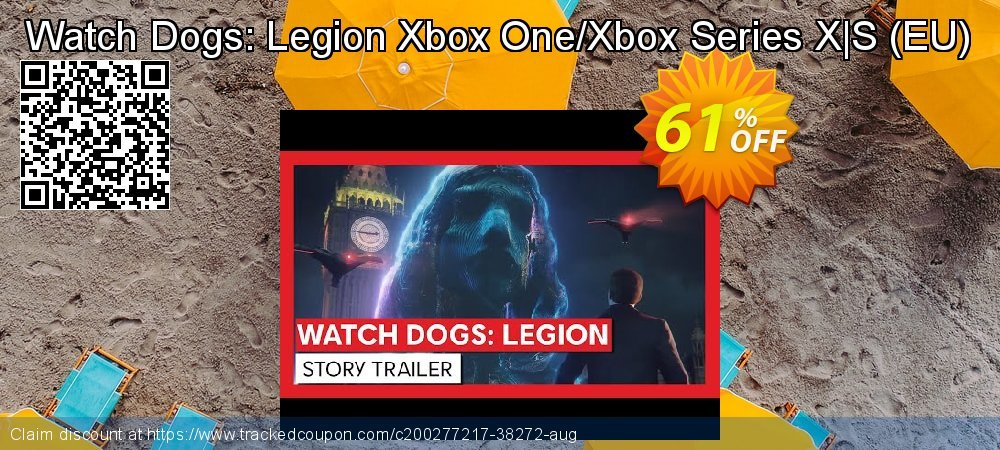 Watch Dogs: Legion Xbox One/Xbox Series X S - EU  coupon on World Bicycle Day sales
