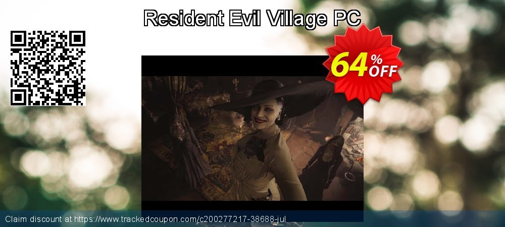 Resident Evil Village PC coupon on World Bicycle Day offer