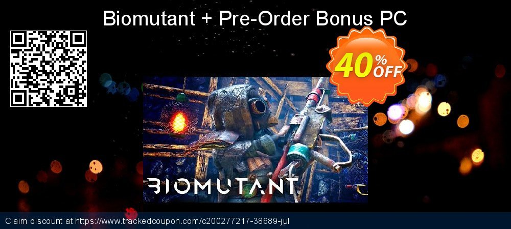Biomutant + Pre-Order Bonus PC coupon on Social Media Day discount