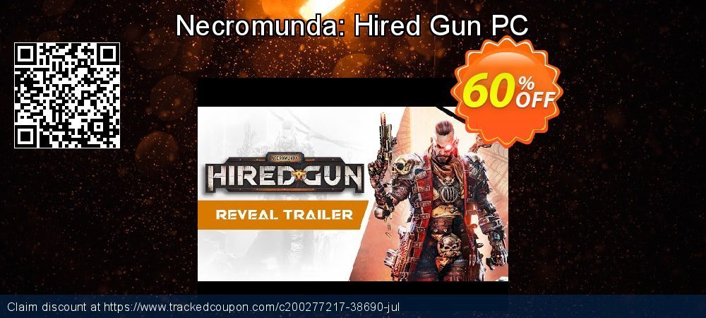 Necromunda: Hired Gun PC coupon on World Oceans Day offering discount