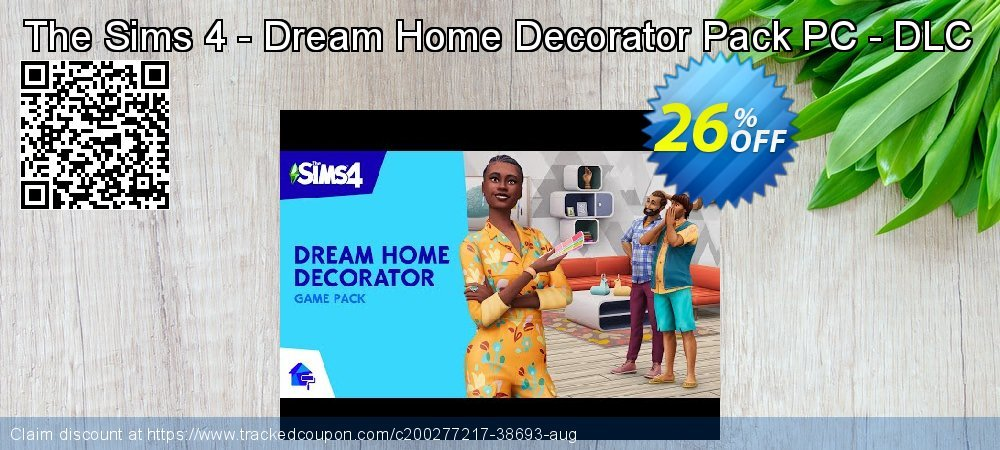 The Sims 4 - Dream Home Decorator Pack PC - DLC coupon on Hug Holiday discounts