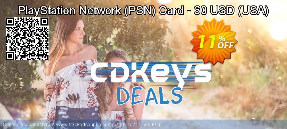 PlayStation Network - PSN Card - 60 USD - USA  coupon on Father's Day deals