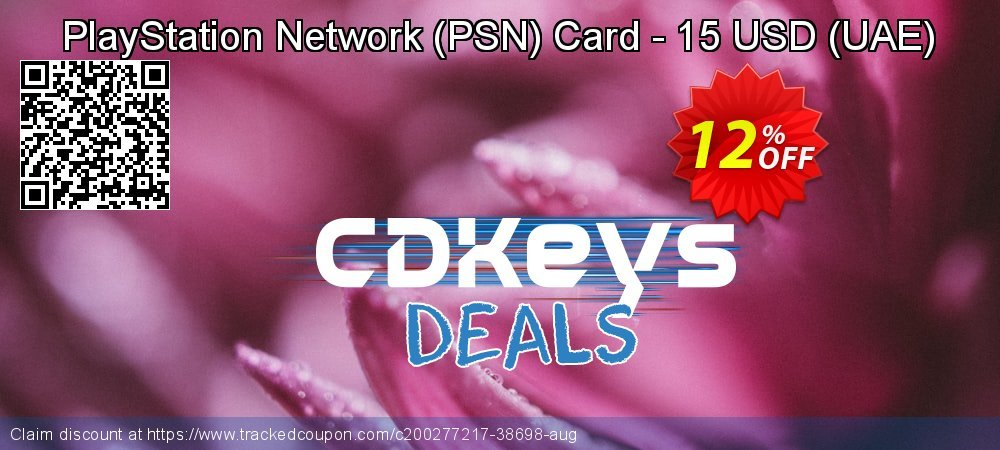 PlayStation Network - PSN Card - 15 USD - UAE  coupon on World Bicycle Day discount