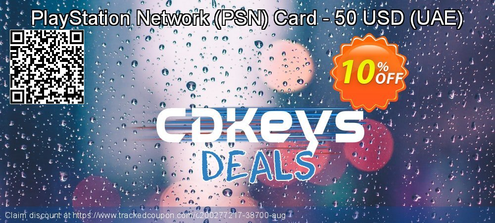 PlayStation Network - PSN Card - 50 USD - UAE  coupon on Egg Day offering sales