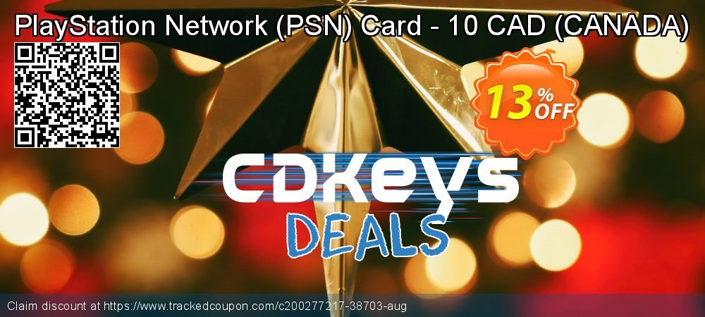PlayStation Network - PSN Card - 10 CAD - CANADA  coupon on World Oceans Day promotions