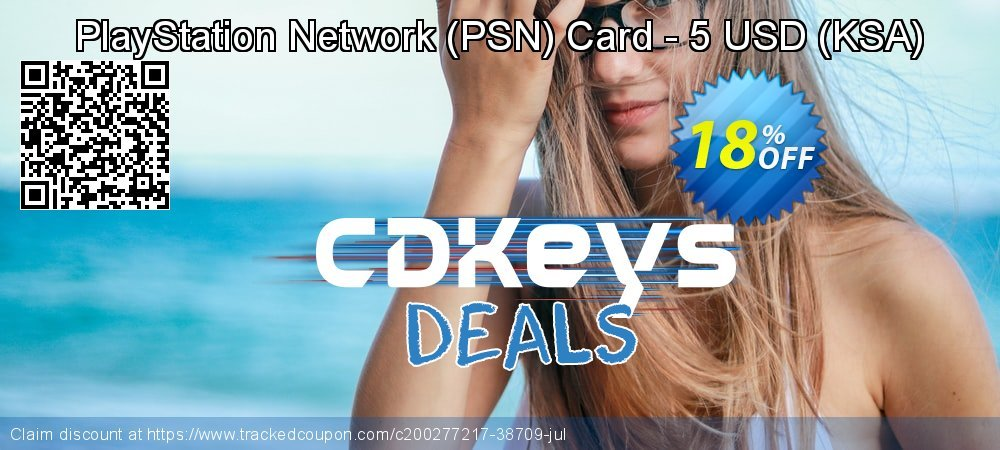 PlayStation Network - PSN Card - 5 USD - KSA  coupon on Father's Day offering sales