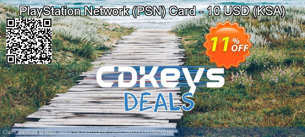 PlayStation Network - PSN Card - 10 USD - KSA  coupon on National Cheese Day super sale