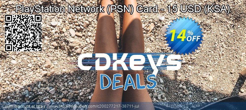 PlayStation Network - PSN Card - 15 USD - KSA  coupon on World Bicycle Day discounts