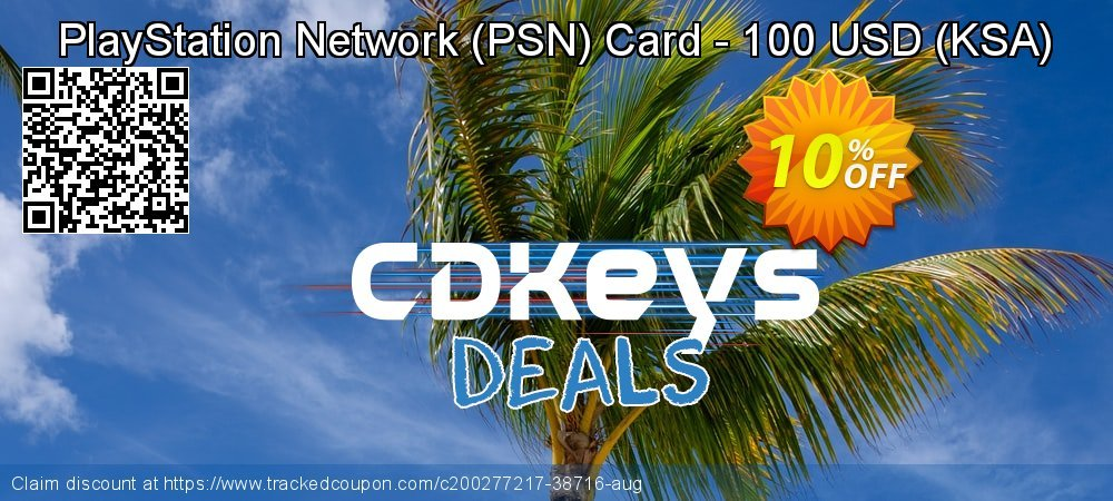 PlayStation Network - PSN Card - 100 USD - KSA  coupon on World Oceans Day discount