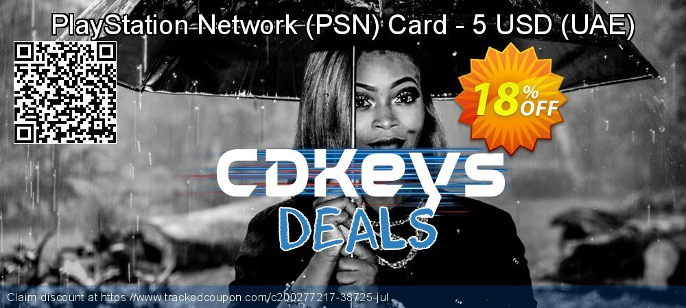 PlayStation Network - PSN Card - 5 USD - UAE  coupon on World Milk Day discount