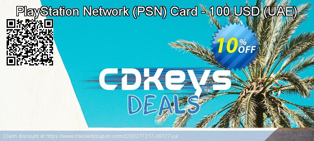 PlayStation Network - PSN Card - 100 USD - UAE  coupon on World Bicycle Day offering sales