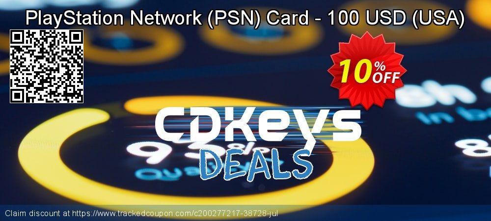 PlayStation Network - PSN Card - 100 USD - USA  coupon on Social Media Day super sale