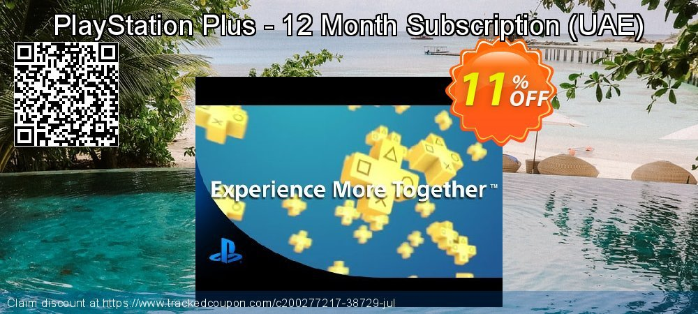 PlayStation Plus - 12 Month Subscription - UAE  coupon on World Oceans Day discounts