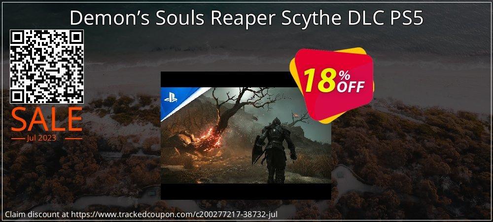 Demon's Souls Reaper Scythe DLC PS5 coupon on Hug Holiday deals
