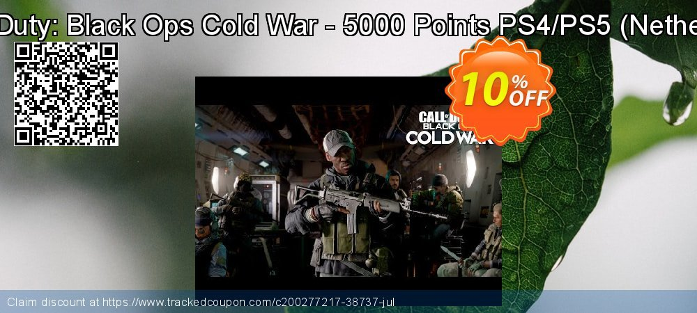 Call of Duty: Black Ops Cold War - 5000 Points PS4/PS5 - Netherlands  coupon on World Bicycle Day super sale