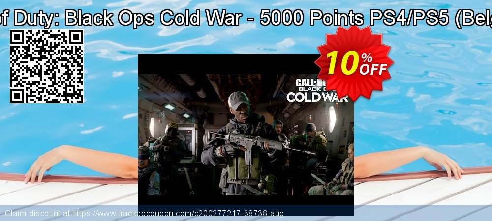 Call of Duty: Black Ops Cold War - 5000 Points PS4/PS5 - Belgium  coupon on World Milk Day discounts