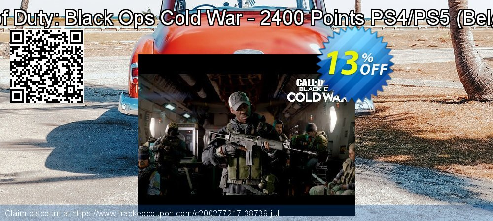 Call of Duty: Black Ops Cold War - 2400 Points PS4/PS5 - Belgium  coupon on Egg Day promotions