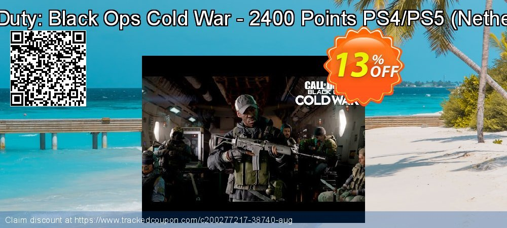 Call of Duty: Black Ops Cold War - 2400 Points PS4/PS5 - Netherlands  coupon on World Bicycle Day sales