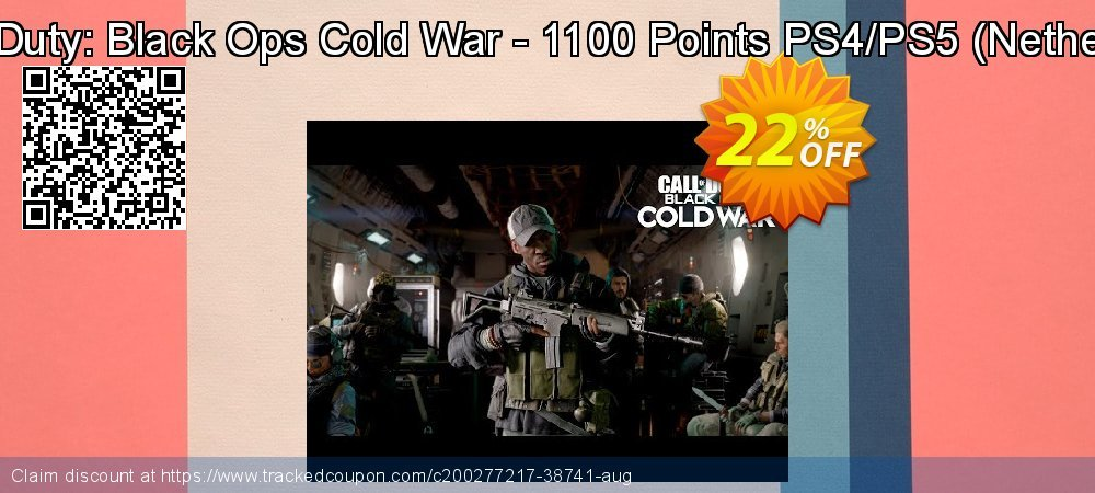 Call of Duty: Black Ops Cold War - 1100 Points PS4/PS5 - Netherlands  coupon on Social Media Day deals