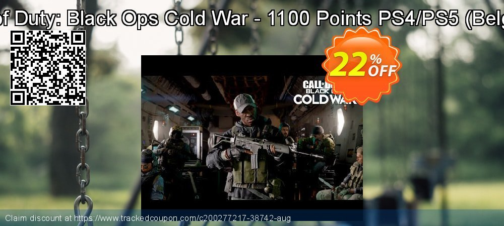 Call of Duty: Black Ops Cold War - 1100 Points PS4/PS5 - Belgium  coupon on World Oceans Day offer