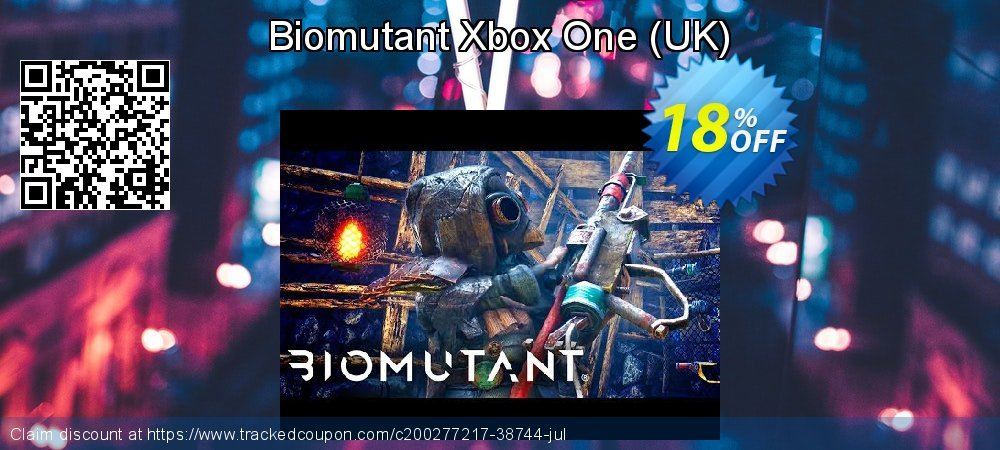 Biomutant Xbox One - UK  coupon on World Day of Music offering discount