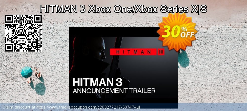 HITMAN 3 Xbox One/Xbox Series X S coupon on Summer discounts