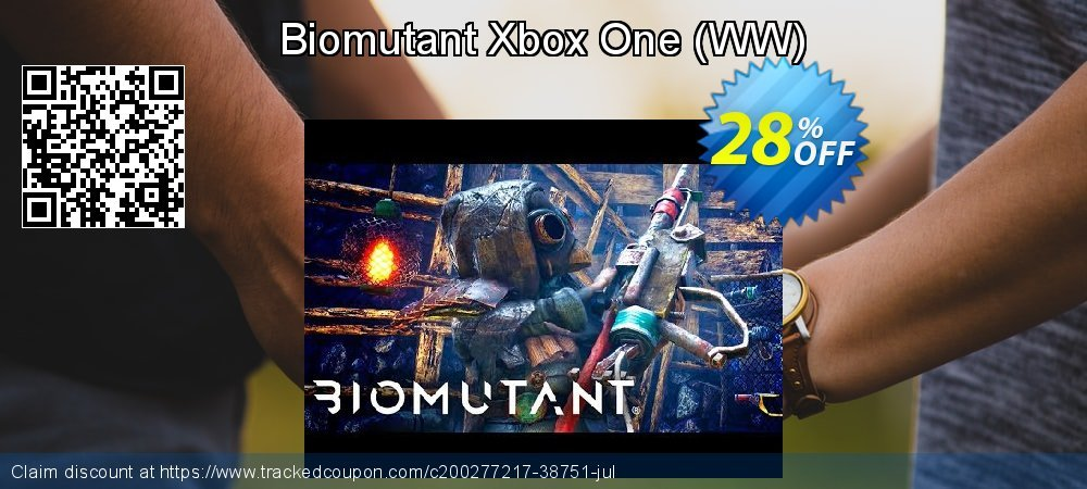 Biomutant Xbox One - WW  coupon on World Milk Day offer