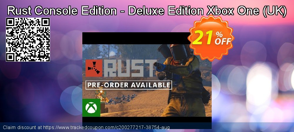 Rust Console Edition - Deluxe Edition Xbox One - UK  coupon on Social Media Day offering sales
