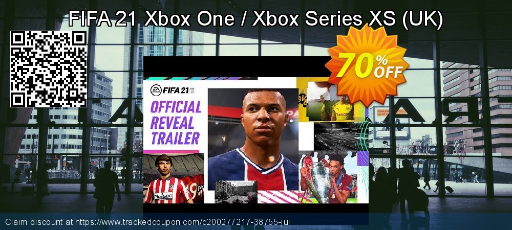 FIFA 21 Xbox One / Xbox Series XS - UK  coupon on World Oceans Day super sale