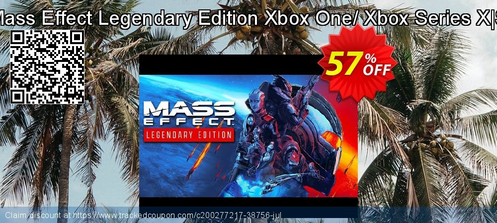 Mass Effect Legendary Edition Xbox One/ Xbox Series X|S coupon on National Kissing Day discounts