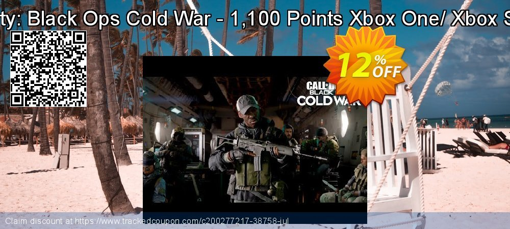 Call of Duty: Black Ops Cold War - 1,100 Points Xbox One/ Xbox Series X|S coupon on Hug Holiday sales