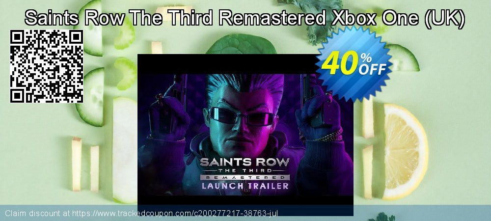 Saints Row The Third Remastered Xbox One - UK  coupon on World Bicycle Day offering sales